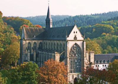 Altenberger Dom von oben