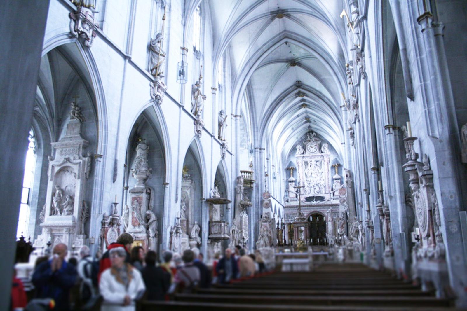 salem-Kirche, innen