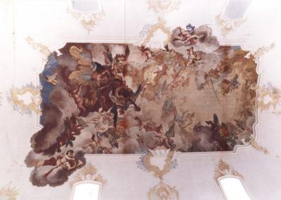 Deckenfresko Dreieinigkeit 1748
