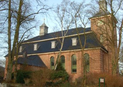 Die Klosterkirche in Uetersen Baujahr 1747-49