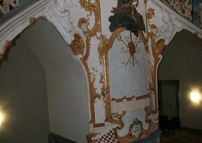 schoental-Abtei, Treppenaufgang