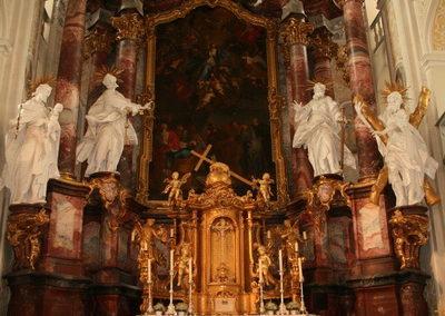 schoental-Kirche, Altar