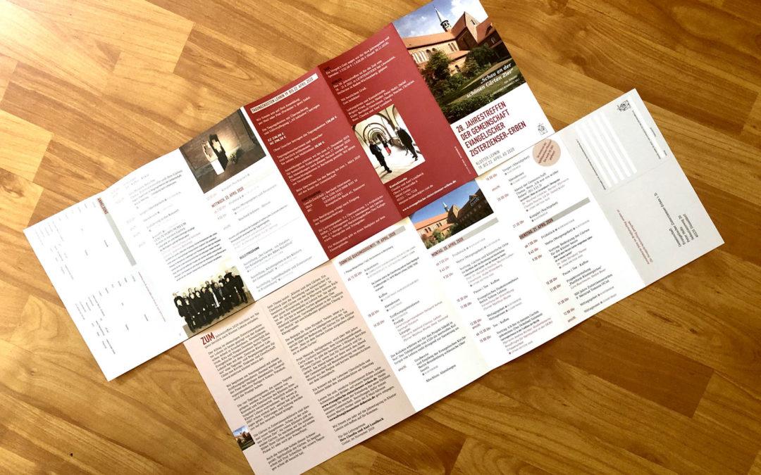 Jahrestagung 2020 in Lehnin – Anmeldung jetzt auch online möglich!